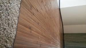 8 x 4 bamboo wall panels make great flooring over carpet