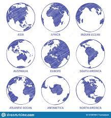 эскиз глобуса глобус руки мира карты вычерченный континенты