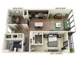 One Bedroom Den A1BD. 1, 1, Den, 860, $3,146   $6,808, Check Availability