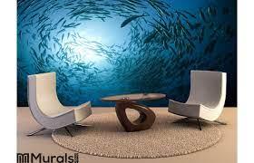 Fish in the ocean Wall Mural