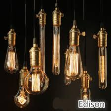 2016 new edison chandelier bulb antique bulb aka carbon filament lamp silk bulb antique light edison light bulb incandescent bulbs x100 led bulbs led