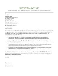 Cover Letters For Teaching Positions Sample Cover Letter For