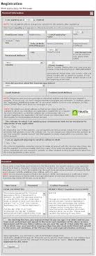 rules for displaying error messages from a user experience figure 8 example of a long form from the common application