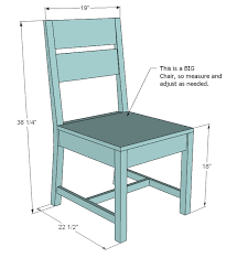 Ana White Build a Classic Chairs Made Simple Free and Easy DIY Project and Furniture  Plans