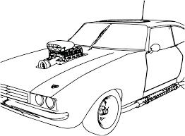 Sport Car Coloring Pages Zupa Miljevcicom