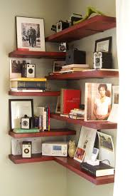 Nice Looking Corner Shelf For Living Room Brilliant Ideas Ideas