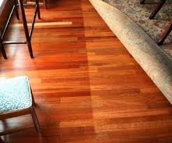 can hardwood floor color be changed