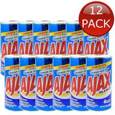 details about 12 x ajax bleach cleaner cleaning powder formula fresh scent bathroom bulk 396g