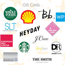 the best categories for gift card giving are below for all intents and purposes i m using exles from my favorite go to places