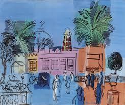 raoul dufy 1877 1953 le de nice aux palmiers et aux vasques 20th century paintings christie s