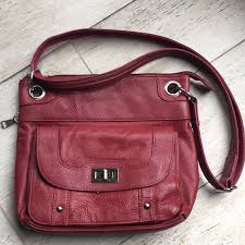 roma leather concealed carry purse dark red m 5be1bc9804e33dff061d7b98