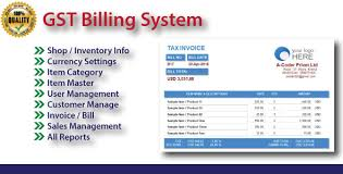 Easy Invoice Maker Cool GST Easy Billing Software With Source Code By Acoder CodeCanyon