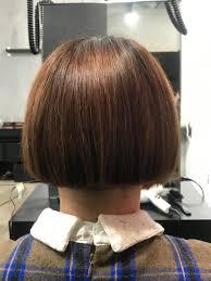 前下がりボブの後ろgo Today Shaire Salon 青山店所属yamasakidaiki