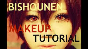 how to look bishounen makeup tutorial for cosplay