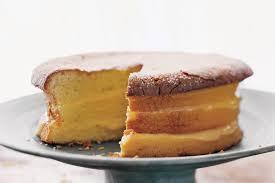 Meyer Lemon Cake with Lavender Cream recipe