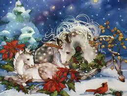 Unicorn Christmas Desktop Wallpaper ...