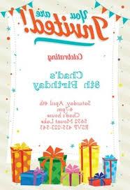 Free Printable Birthday Invitation Templates For Kids Free Printable Birthday Invitations For Kids Qwdq Free Printable
