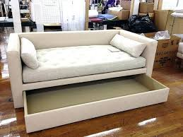 trundle sofa sleeper trundle sofa bed special construction of porter divan into a trundle bed made