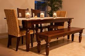 dining table with bench seats solid wood bench for kitchen table