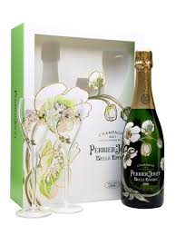 perrier jouet cuvee belle epoque two gl gift set 2004 36th avenue wines spirits