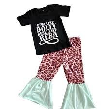 2020 <b>hot sale</b> moody cow animal print pattern children's clothing ...