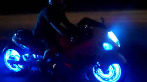 Power Puc Wheel Light Kits Leds In The Wheels Electrical Mods Hayabusa Owners