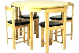 space saving dining table and chairs saver tables chair argos