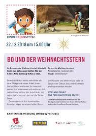 Bo Und Der Weihnachtsstern Kinderkinosamstag Kikisa