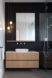 hawthorn east residence melbourne 2014 chan architecture bathroom bathroom pendant lighting ideas gray stained wall