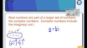 4 8 part 1 finding complex solutions to quadratic equations
