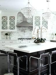 chandeliers over kitchen islands crystal chandelier island in