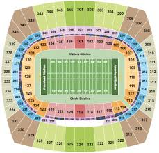 Arrowhead Stadium Tickets Seating Charts And Schedule In