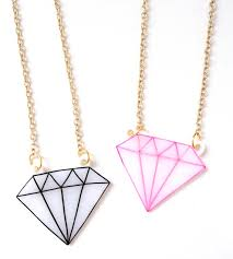 diamond necklace outline shine bright like a by starsnscars