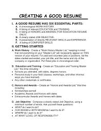 How To Make A Good Resume For A Job Customer Concierge Delighted Best Volunteer Jobs For Resume How To 14