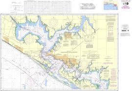 Intracoastal Waterway Nautical Charts Noaa Chart 11390 Intracoastal Waterway East Bay To West Bay