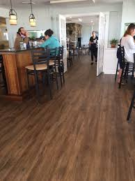 floor decor recently installed this awesome coretec plus xl flooring at the newly renovated guilford mooring restaurant in this beautiful connecticut