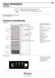 Frigidaire Refrigerator Light Blinking Whirlpool Blf 9121 Ox Setup And User Guide Manualzz Com
