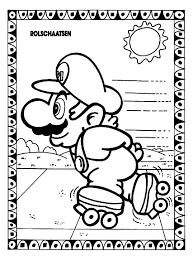 Mario Kleurplaat Kleurplaat Super Mario Odyssey Free Coloring Pages