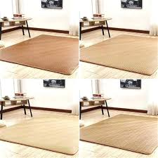 bamboo rug 8x10 bamboo rugs weave straw mat rattan non slip wooden floor protect carpet