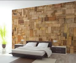 3d Muurschilderingen Behang Voor Woonkamer Hout Creatieve