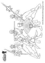 Printable Power Rangers Samurai Coloring Pages