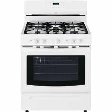 Oven Gas Stove Kenmore 74232 50 Cu Ft Freestanding Gas Range W Convection White