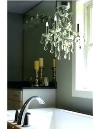 battery operated mini chandelier