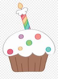 Ceℓebrate Happy Birthday Cupcake Clipart Cupcake