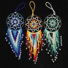Dream Catchers With Beads Beaded dream catchers Beading project tutorials Pinterest 2
