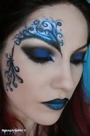 blue secret blue masquerade makeup tutorial costume