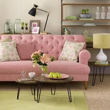 informal green wall indoors. Green-living-room-ideas-pink-sofa Informal Green Wall Indoors