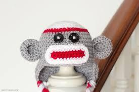 view in gallery sock monkey baby hat crochet pattern1 wonderful diy adorable sock monkey