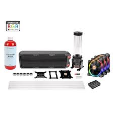 pacific rl360 d5 hard rgb water cooling kit