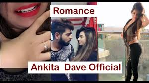 Ankita Dave Romance With Boyfriend Viral Thakkar New Latest Ankita Dave Official Video